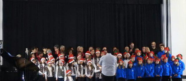 Quatre corals unides en una altra cita musical del Nadal a Vinaròs
