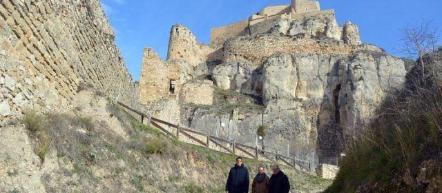 El Ministeri de Cultura i Esport inicia unes obres d'emergència al castell de Morella