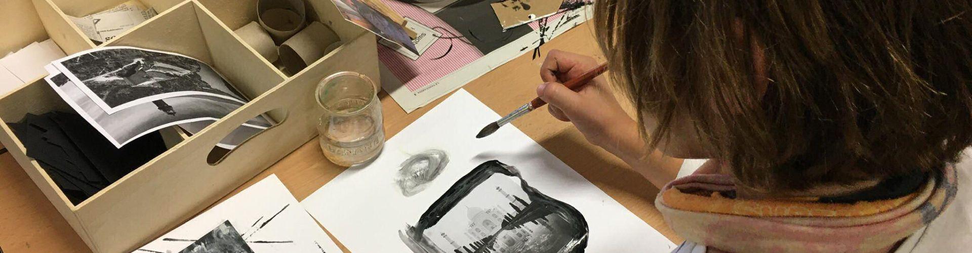 L'Escola Sant Llàtzer participa en 'Compartim espais de creació i diàleg artístic', amb l'Escola d'Art de la Diputació a Tortosa