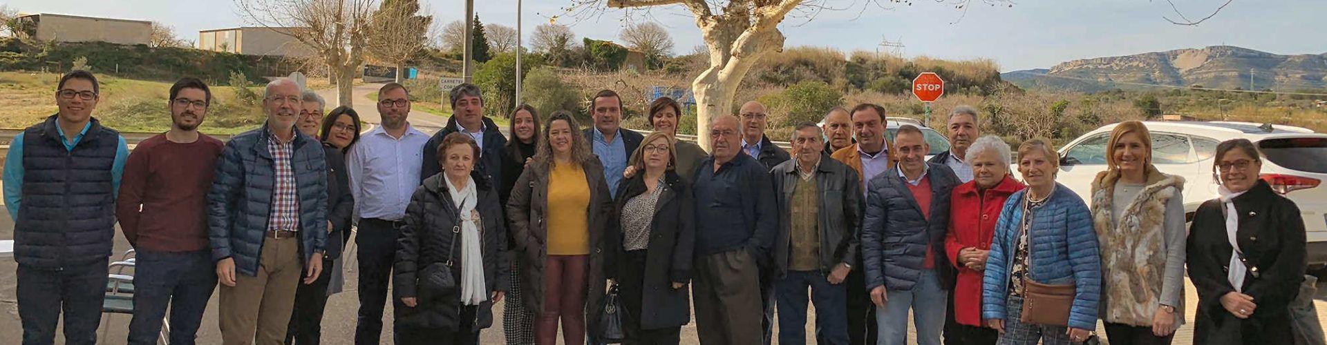 El PP reclama l'autovia de l'interior (A7) que bloqueja el PSOE en un acte a La Jana