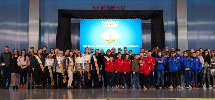 La jugadora de bàsquet, Aida Castell, elegida millor esportista 2019 d'Alcanar