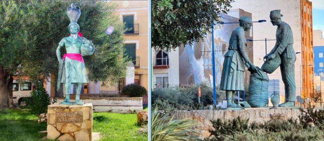 La alcaldesa de Càlig y el de Vinaròs valoran la gran producción artística de Federico Valls, fallecido este sábado