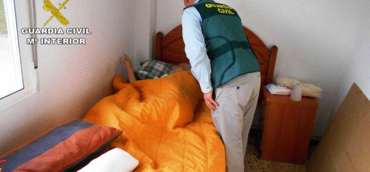 La Guardia Civil detiene a dos personas por regentar una residencia geriátrica ilegal en Vinaròs