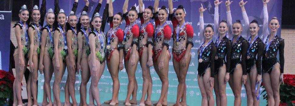 Club Mabel de Benicarló, Subcampeón de España de conjuntos de gimnasia rítmica, categoría reina