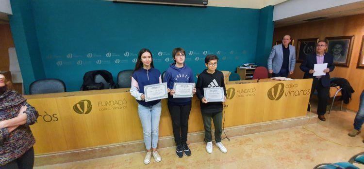 Lliurament de premis del concurs de redacció de Caixa Vinaròs
