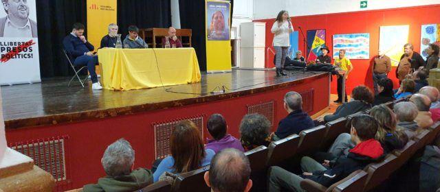 """Rufián i Artur Junqueras presentaren a Vinaròs """"Llibres contra la represió"""""""