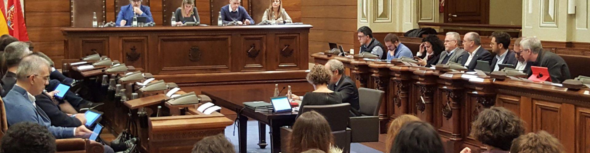 Diputació de Tarragona fa públiques dues declaracions institucionals pels aiguats i per millores al sector químic
