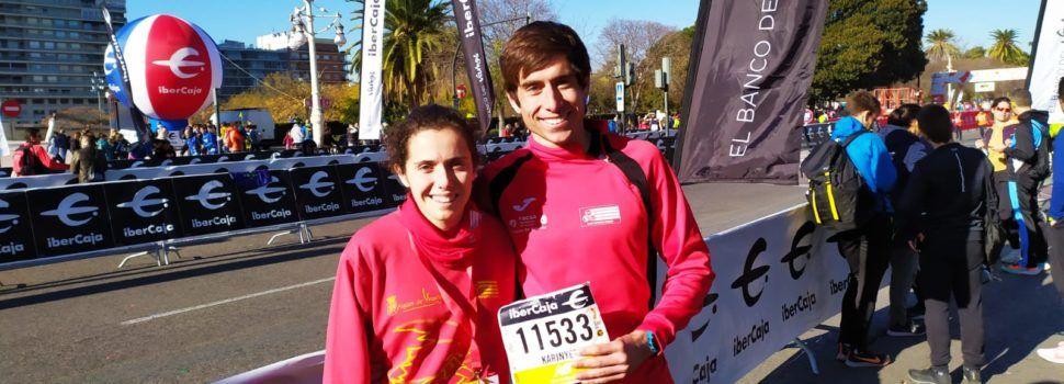 Bones marques de Guillem Segura i Carla Masip en el 10k de València