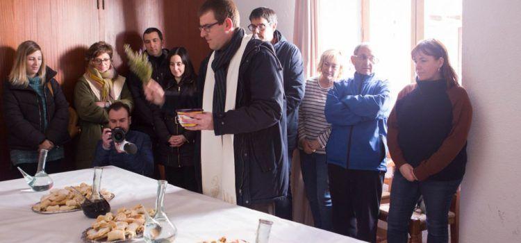 Morella beneeix el panoli de Sant Antoni