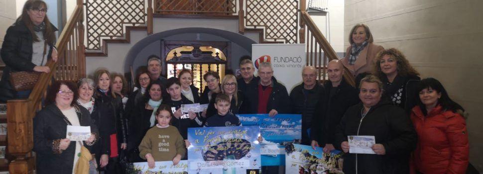Els 25 guanyadors ja tenen el premi de la campanya de nadals dels comerciants de Vinaròs