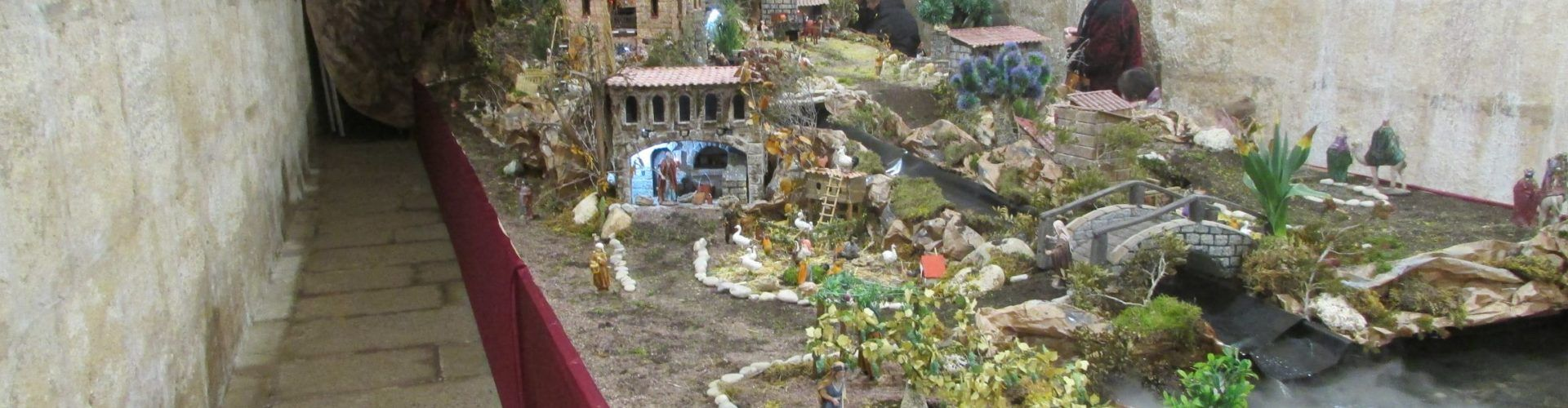 La Cisterna del Vall d'Alcanar acull fins al dia de Reis un Betlem de 70 metres quadrats