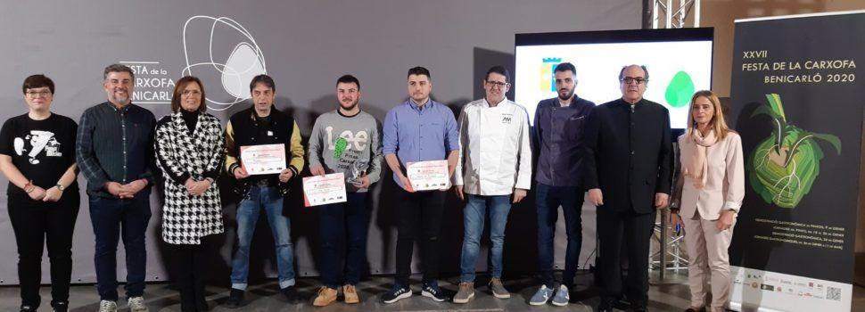 Mar Blava i Los Montaditos guanyen el Concurs dels Pinxos de la Carxofa de Benicarló