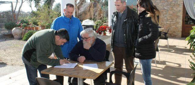 L'Ajuntament de L'Aldea inicia la geolocalització de masies i cases aïllades