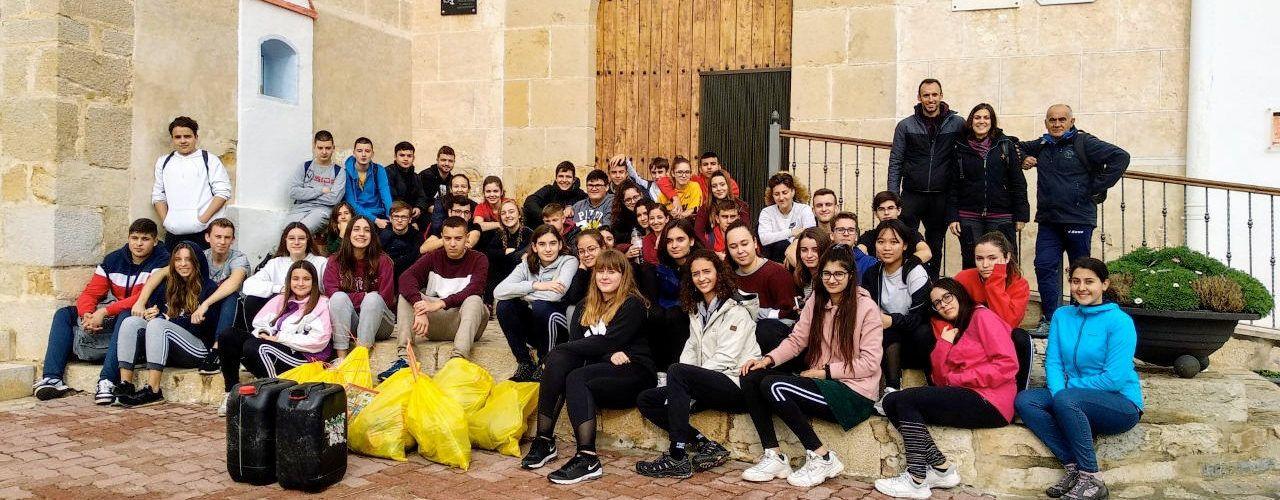 IES José Vilaplana: Plogging a l'ermita de Vinaròs