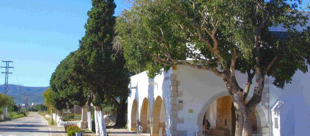 Ben Vist: Exteriors de l'ermita de S.Gregori de Benicarló