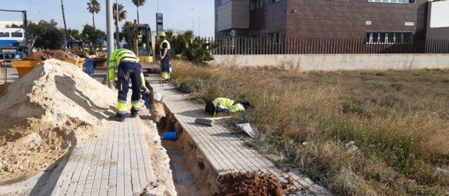Benicarló millora la xarxa de distribució d'aigua del polígon industrial El Collet