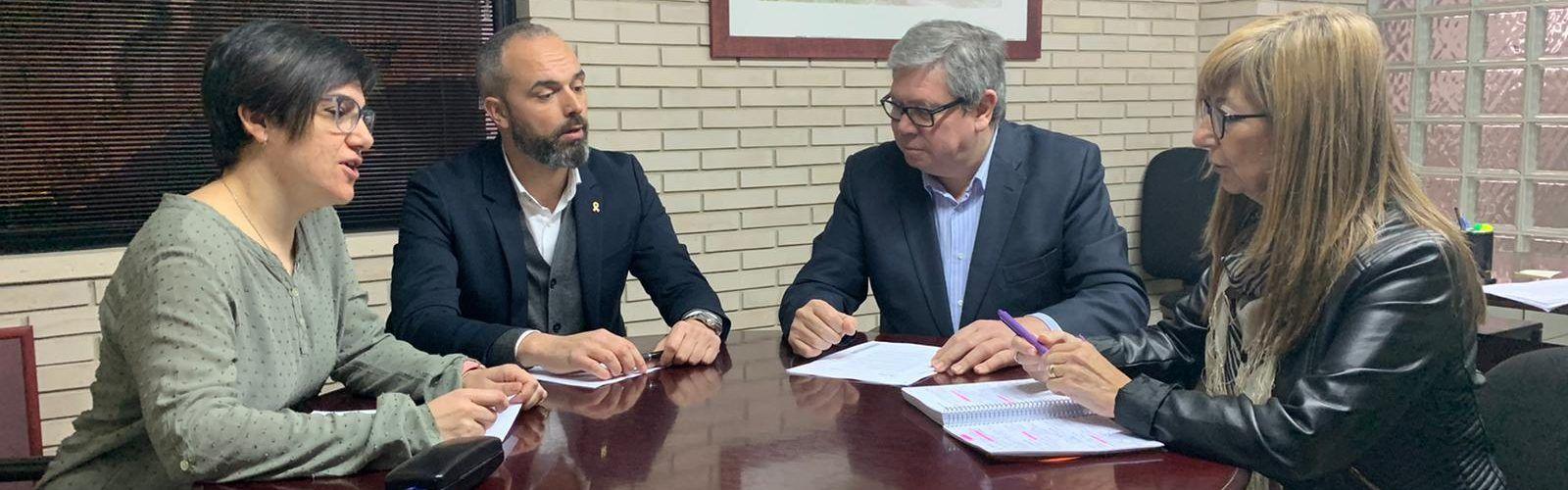 Els Consells Comarcals de Terres de l'Ebre aborden de manera conjunta els problemes del territori