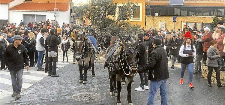 Las fiestas de Sant Antoni no se apagan en Els Ports