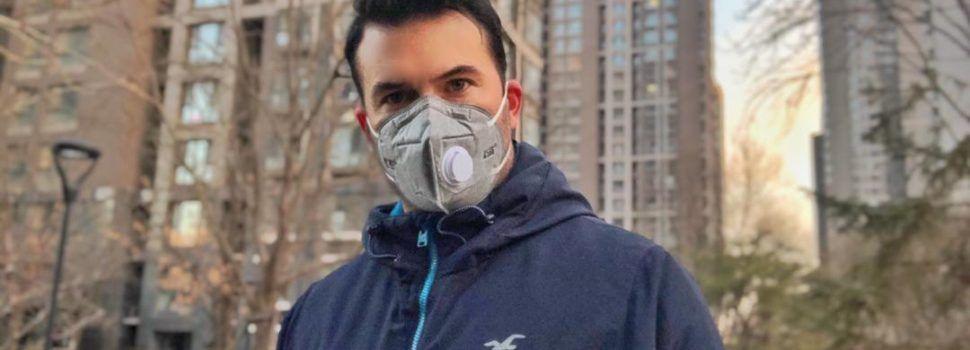 """Robert Gilabert, de Vinaròs, residente en China, sobre el coronavirus: """"aquí todo el trabajo está parado"""""""