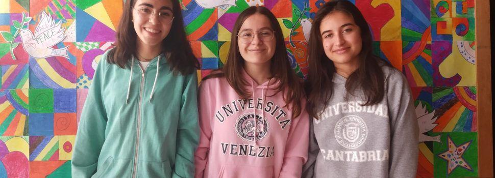 Tres alumnes del Divina Providència de Vinaròs, becats per anar a EEUU i Canadà
