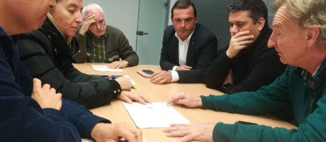 L'Ajuntament de Peníscola lluitarà a Madrid per la reparació del seu únic accés cap a la costat sud