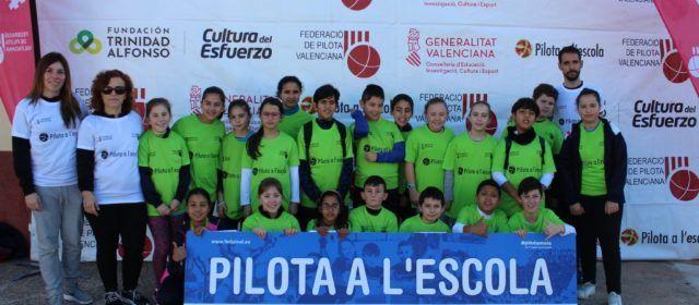 El colegio de Santa Magdalena participa en el encuentro 'Pilota a l´Escola' en Traiguera