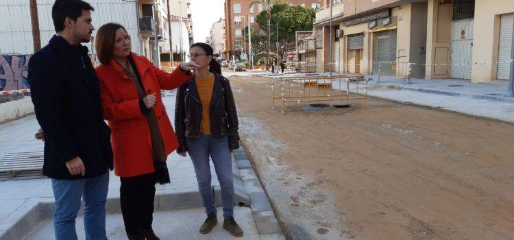 El carrer de València de Benicarló s'obrirà al trànsit a mitjans de la setmana que ve