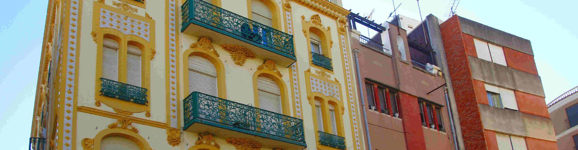 Ben Vist: Modernisme als carrers de Vinaròs