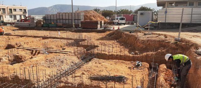 Les obres del nou col·legi del CRA Araboga de Canet lo Roig avancen a bon ritme