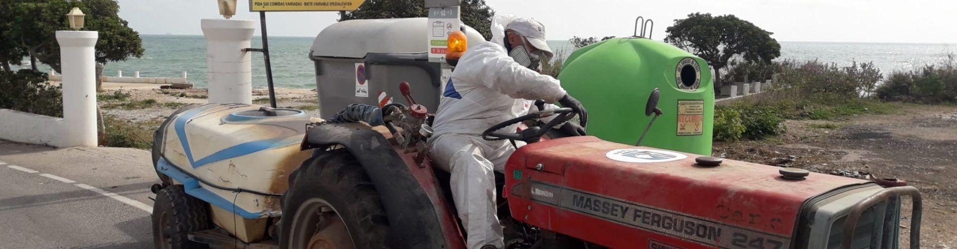 L'Ajuntament de Vinaròs continua amb les feines de desinfecció al municipi pel coronavirus