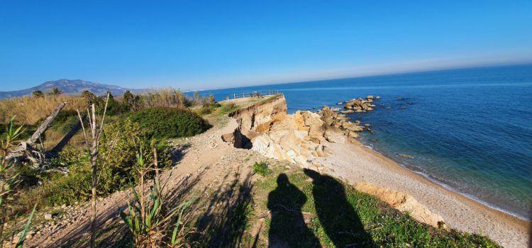 El temporal Glòria danyà també el jaciment arqueològic de la Torre de Sòl de Riu a Vinaròs