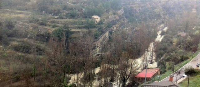 La DANA deixa a Vallibona més de 120 l/m2 i una nova avinguda del Cérvol