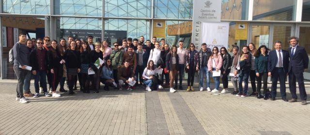 L'IES Joan Coromines de Benicarló visita la Fira de Mostres de València