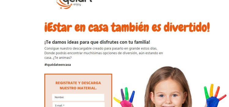 Qelart, del vinarocense Anthony Senén, ofrece actividades para pasar el confinamiento por el coronavirus