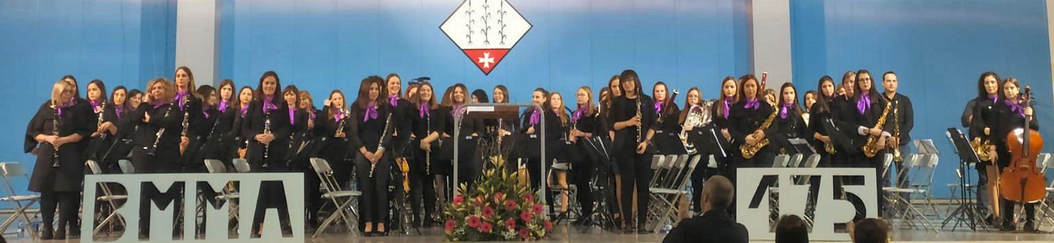 Concert de dones per la banda municipal d'Alcanar
