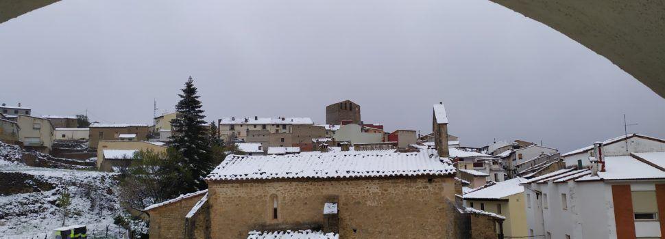 5 cm de neu cobreixen Portell