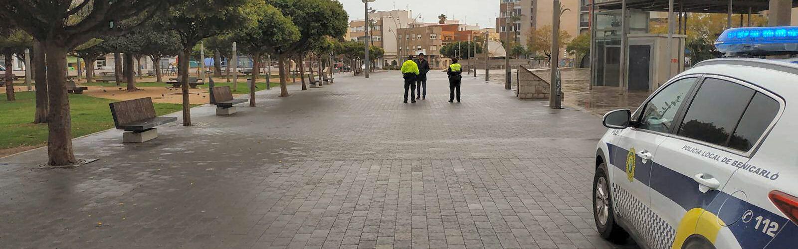 La Policia Local de Benicarló posa 47 denúncies en la primera setmana de confinament pel coronavirus