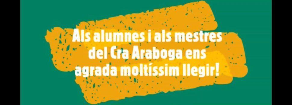 Vídeo: Dia del Llibre al CRA Araboga (Cervera-La Jana-Canet)