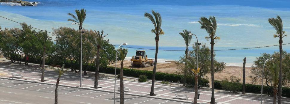 Posada a punt de la platja Fora Forat de Vinaròs