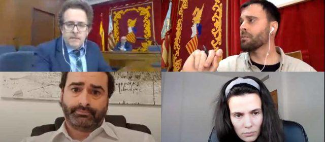 Vídeo: Segon ple telemàtic de l'Ajuntament de Vinaròs