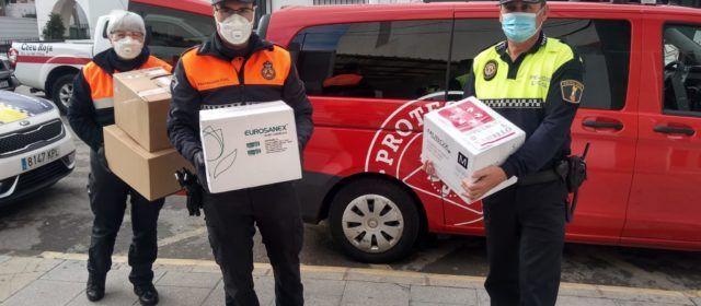 La Diputació de Castelló destina prop de 150.000 euros a adquirir material de protecció pel coronavirus