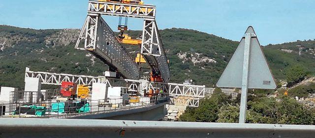 Les obres del port de Querol (N-232, Morella) no s'aturen ni en dissabte