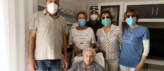 Estefania López de Vinaròs arriba als 105 anys