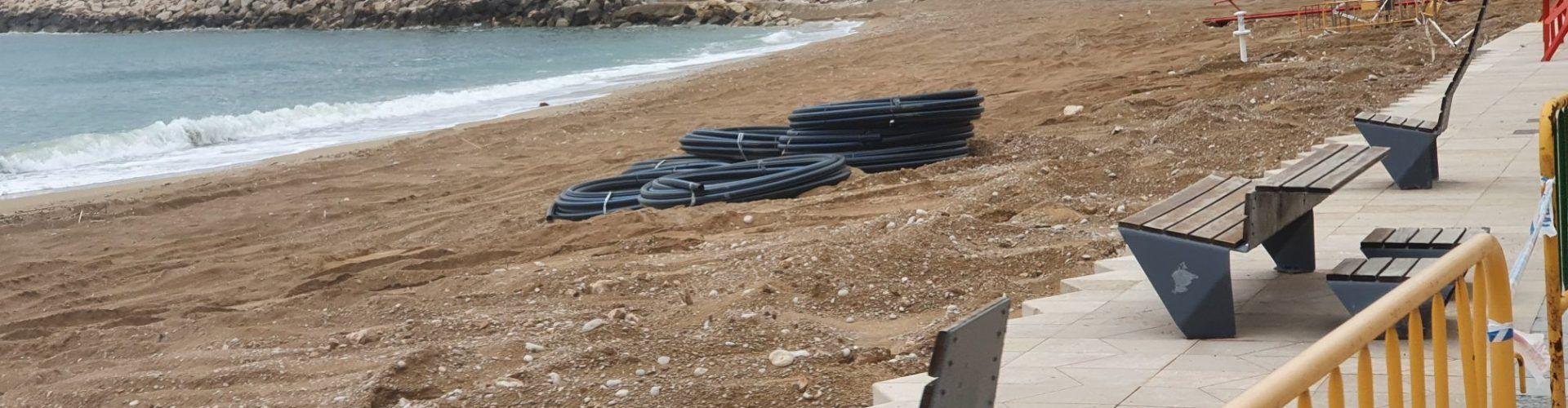 Turisme Comunitat Valenciana adequa les platges de Vinaròs