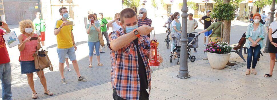 La Flama del Canigó s'obri pas a Vinaròs, tot i el coronavirus