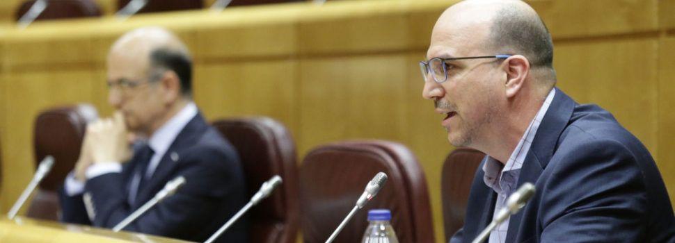 Teruel existe pide al ministro Ábalos el desbloqueo de la autovía A68 que debe llegar hasta Vinaròs