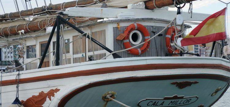 El veler Cala Millor torna al port de Vinaròs
