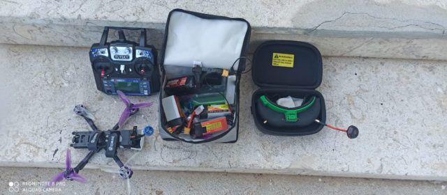 Policia local Vinaròs: confiscat un dron a un menor