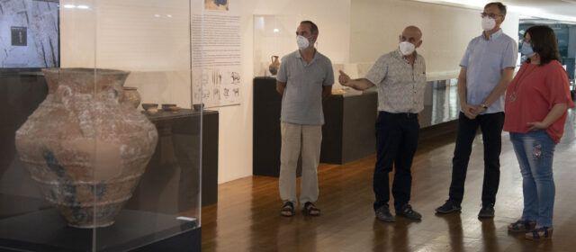 La Diputació obri al Museu de Belles Arts una exposició del jaciment del Puig de Vinaròs