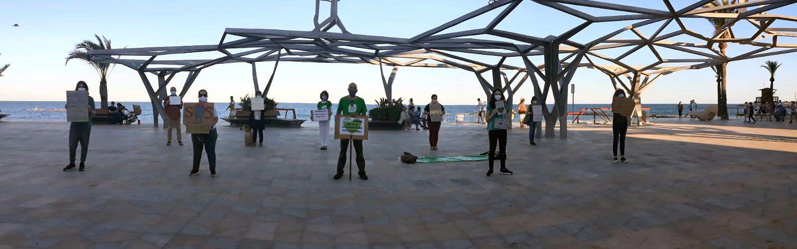 Fridays For Future Vinaròs es manifesta en el Dia Mundial del Medi Ambient